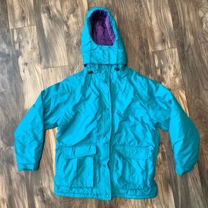 Vintage Cabelas womens large puffer coat thermal